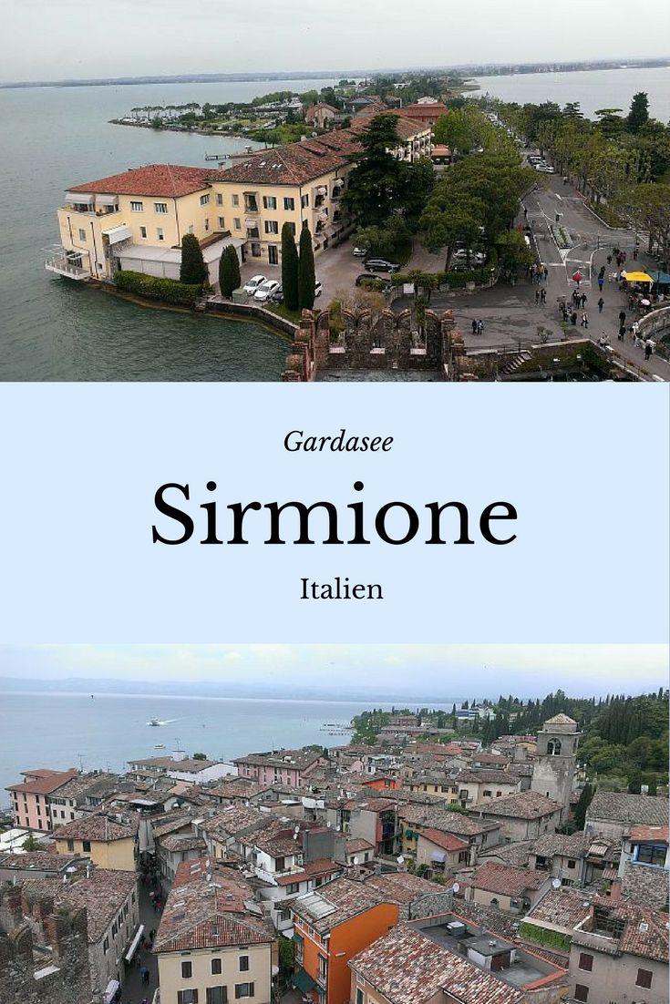 Sirmione am Gardasee, Italien. Reisebericht mit Bildern. Wohnmobil Reiseziele in Europa.