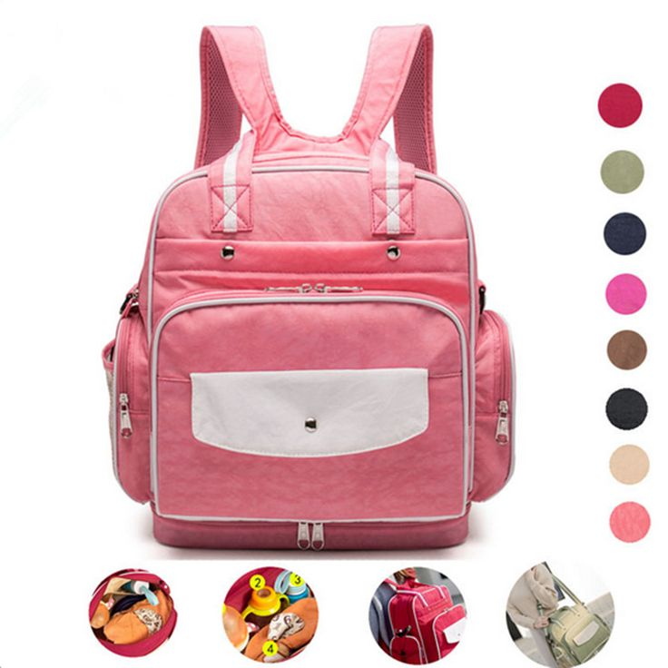 Multifunctioal Baby Diaper Bag Nappy Bags For Mom Backpack Mummy Maternity  Organizer bolsa maternidade Stroller Bags Baby Care c8a85a51ab