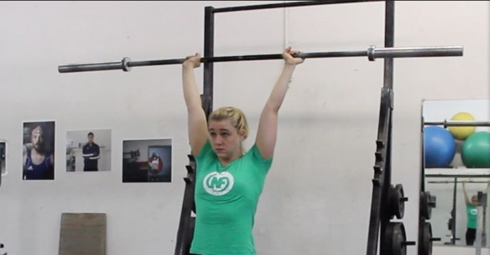 Strength Training 101: The Overhead Press.  Excellent and THOROUGH article