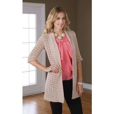 """Crocheted Jacket, Women's 32-34 (36"""") - Crochet - Sweaters - Knit & Crochet"""