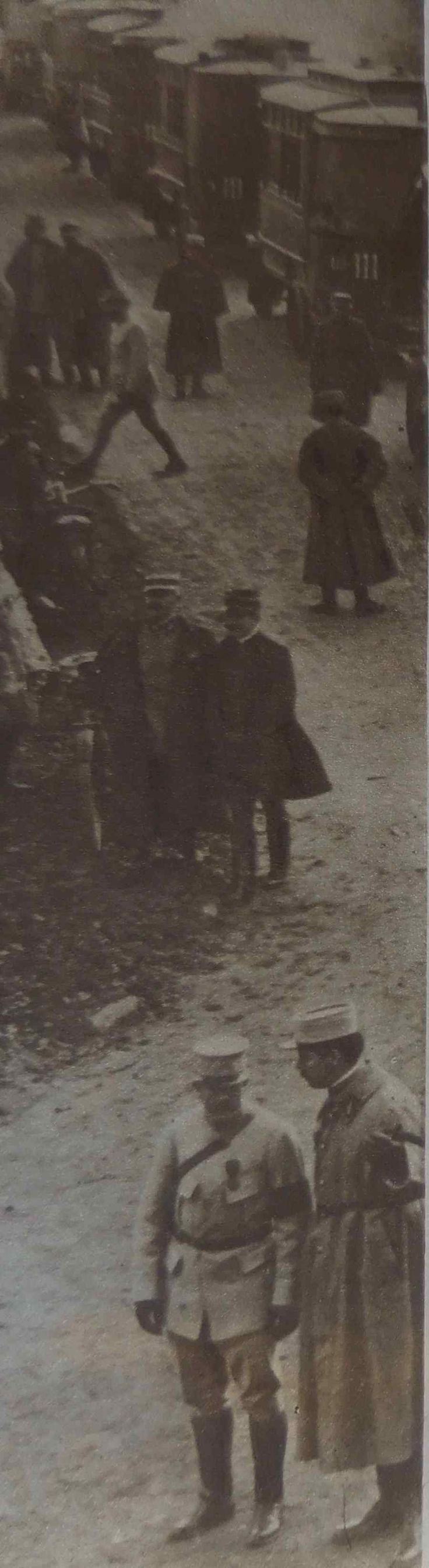 WWI, 1916, Verdun. La Voie Sacrée