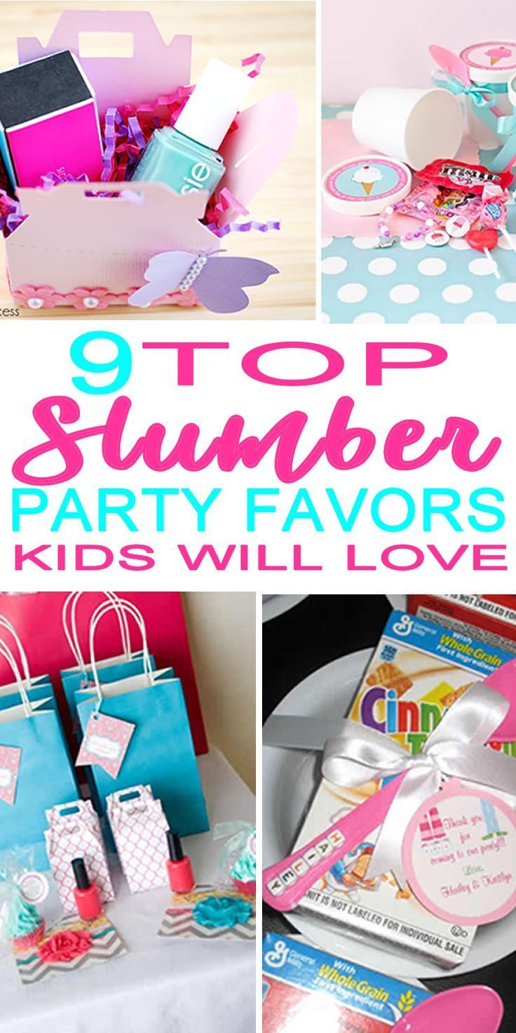 Slumber Party Ideas That Kids Will Love Sleepover Ideas For 10 Year Olds Slumber P Sleepover Birthday Parties Birthday Party For Teens Slumber Party Favors