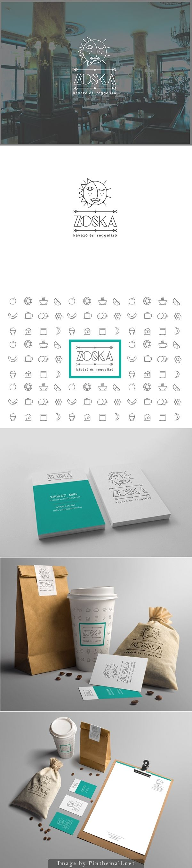 Zoska Coffe Branding by Balazs Hajnal…