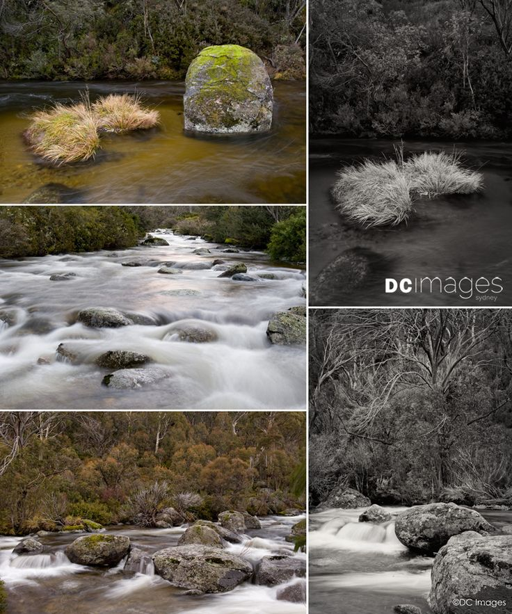 Thredbo River, Kosciusko National Park