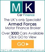 MK Car Finance offers specialist vehicle finance for Forces personnel.