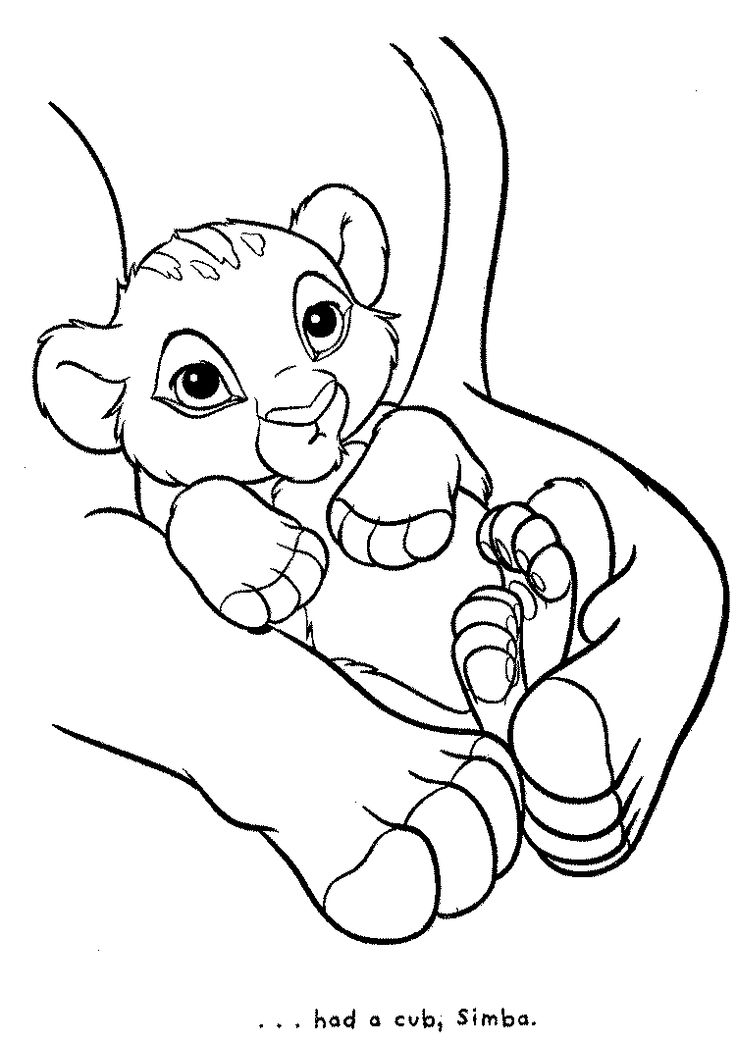 Image Detail For Lion King Coloring Pages