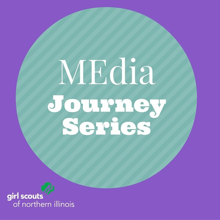 A Journey is more fun with friends! This 12-day series is perfect for girls not in a troop or who are craving more. She'll complete the MEdia Journey, exploring all the ways that girls and women are portrayed in the media and how she can make a difference in positive change. Girls do not need to be accompanied by an adult. For: Girl Scout Cadettes When: Monday, August 1 - Thursday, August 18, 2016 (M, T, W, TH only) at 3 - 5 p.m.  Registration open now!