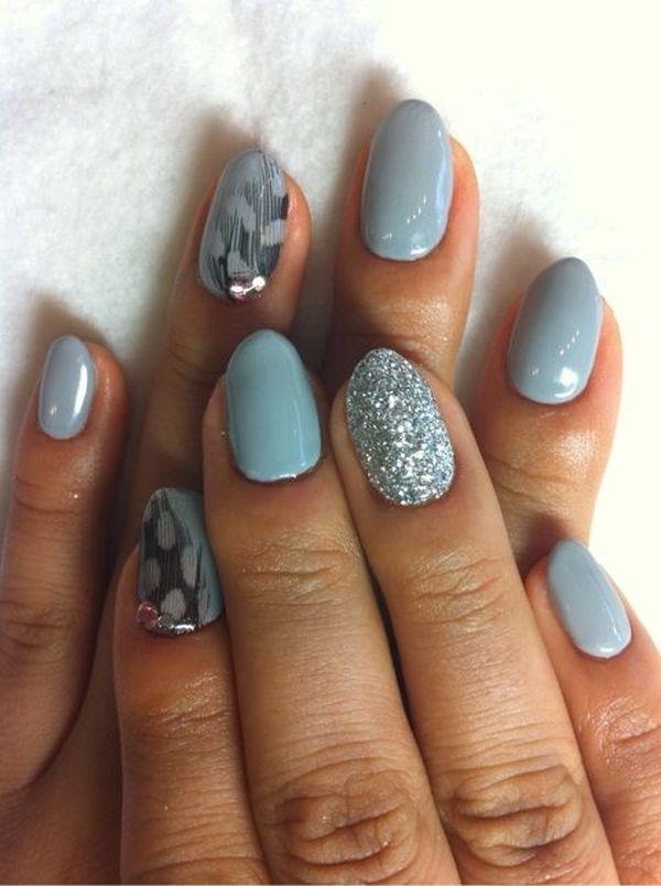 shape. round-nails-art1 - Exquisite Girl - Best 20+ Rounded Nails Ideas On Pinterest Round Nails, Round