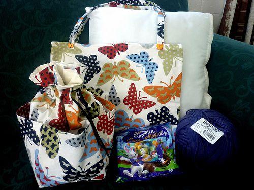 My crafty goody bag! :)