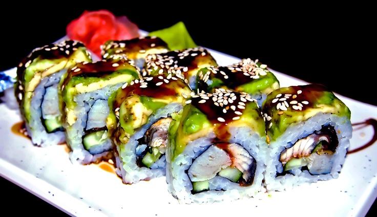 Glowingly good Sushi