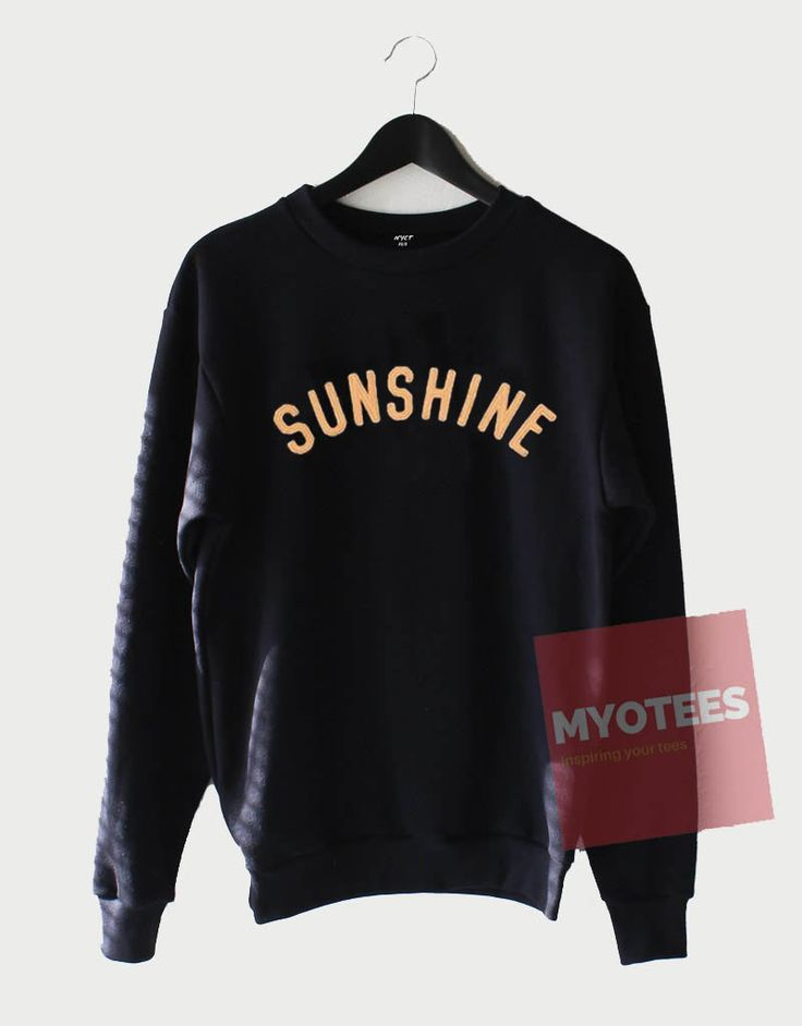 Cheap Custom Sunshine Sweatshirt //Price: $27.49 //     #specialtees