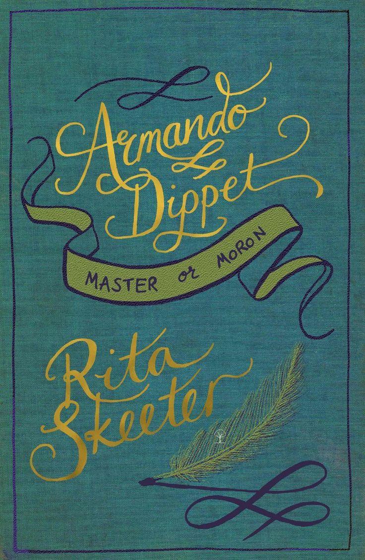 Harry Potter book cover. Armando Dippen, Master or Moron ...