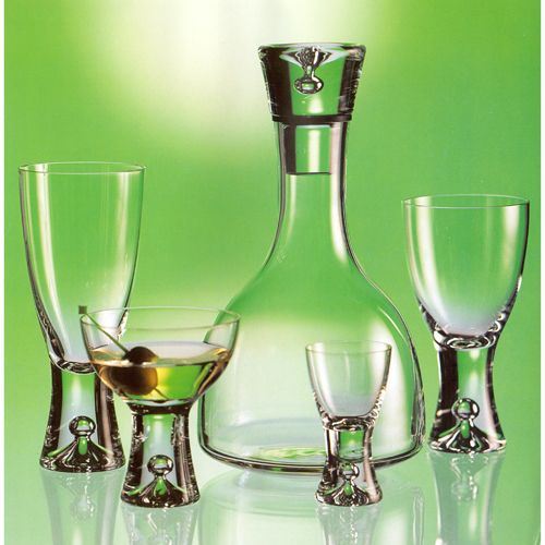 Tapio Wirkkala Designed Glassware by iittala, 1952