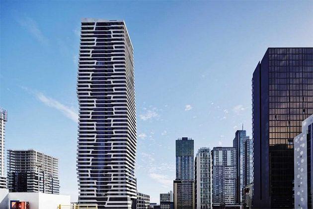 Se trata de un edificio residencial de apartamentos en Melbourne, Australia diseñada por el estudio de arquitectura Hayball. El edificio está formado por diversos barrios verticales que incluyen locales y viviendas residenciales.