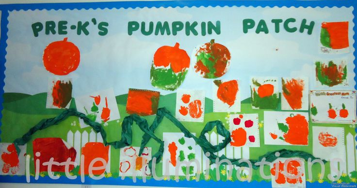fall bullentin board ideas | From our Infant Room! I wouldn't suggest this for older kids!