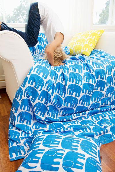 Elephant Bedding by Loan Koskela Finlayson #Bedding #Elephants #finlayson
