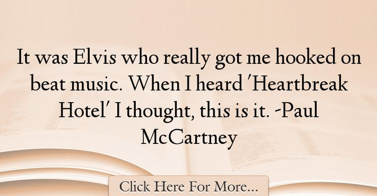 Paul McCartney Quotes About Music - 50526