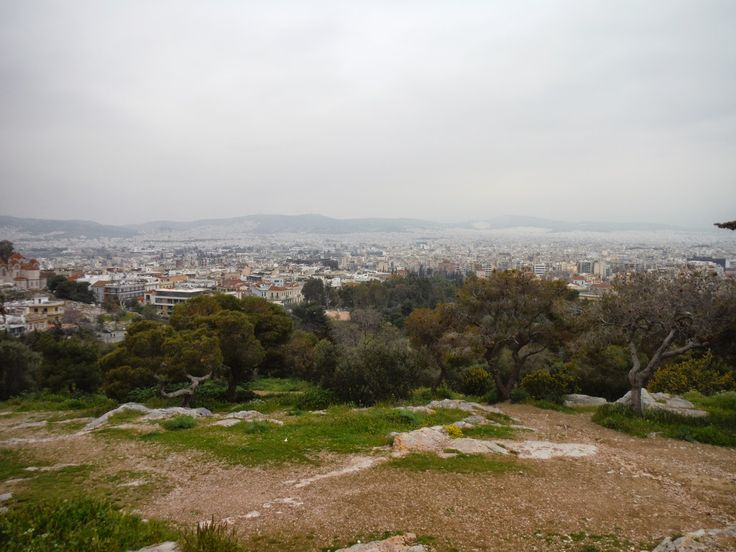 Elder Teal: Week 35 Athens its not always blue sky and sunshine !