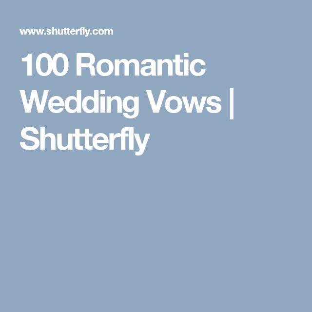 Romantic Wedding Ceremony Ideas: Best 25+ Romantic Wedding Vows Ideas On Pinterest