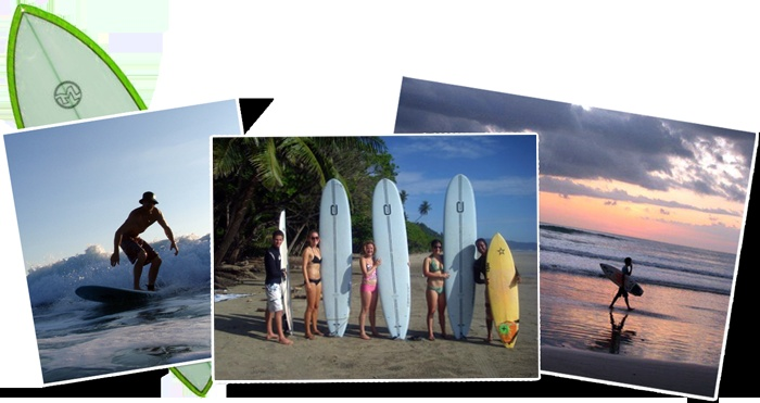 Surfing in Costa Rica Spanish School and Surf Camp Perfect Sunset School