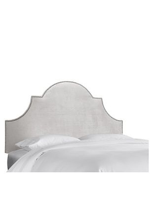 51% OFF Skyline High Arch Nail Button Headboard (Mystere Dove)