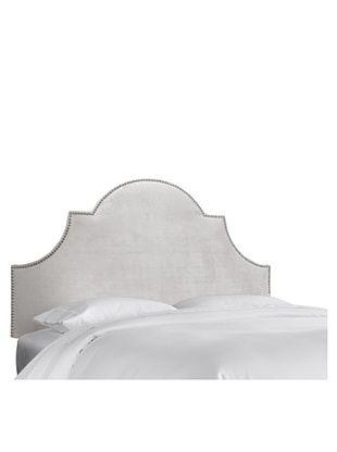 51% OFF Skyline High Arch Nail Button Headboard (Mystere Dove)