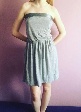 Kup mój przedmiot na #vintedpl http://www.vinted.pl/damska-odziez/krotkie-sukienki/12987893-szara-sukienka-z-river-island