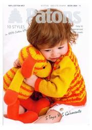 Patons 3804 5 Sweaters with 5 Toys