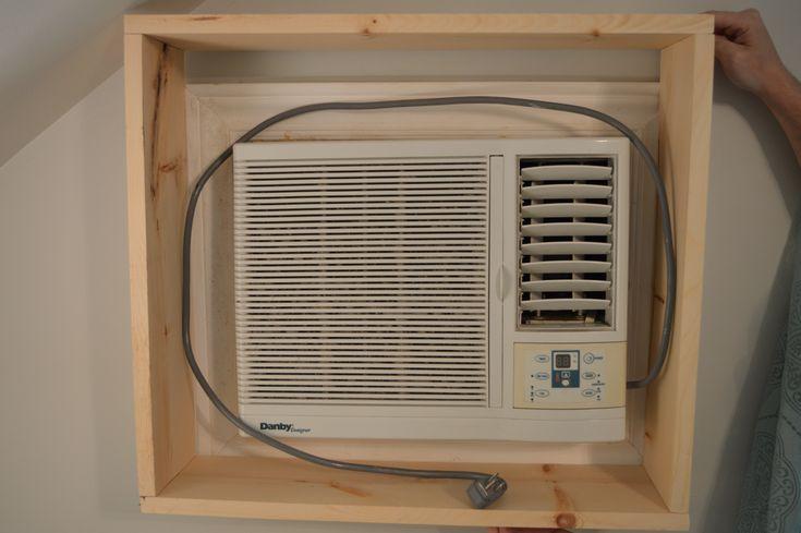 1000 ideas about window unit ac on pinterest window air - How to hide window ac unit ...