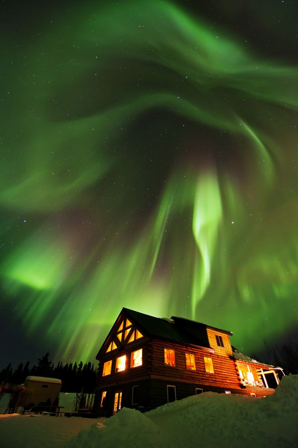 Beautiful Beast Above - Fairbanks, Alaska  This is exactly why me and the hubby wanna live in alaska! Beautiful. #dreams!!