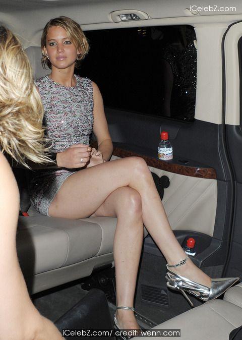 Jennifer Lawrence Leaving the Christian Dior Fashion Party http://icelebz.com/events/jennifer_lawrence_leaving_the_christian_dior_fashion_party/photo1.html