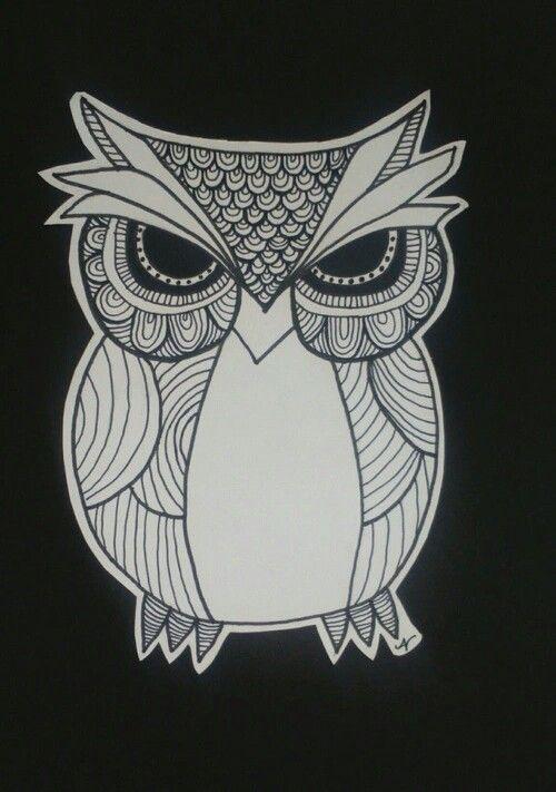 Zentagle owl