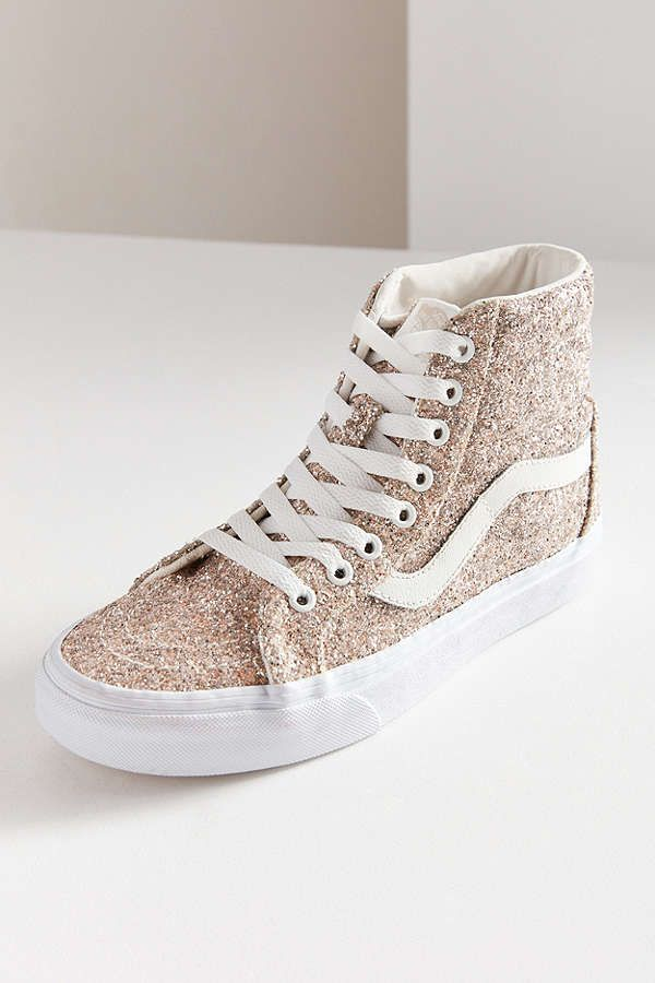 a93a8f9d752 Slide View  1  Vans Chunky Glitter Sk8-Hi Reissue Sneaker ...