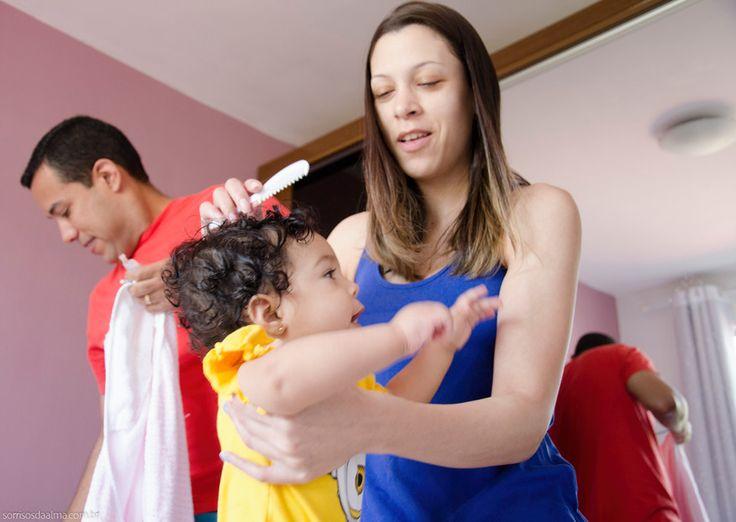 Ensaio família - Michel, Glauce e Catarina