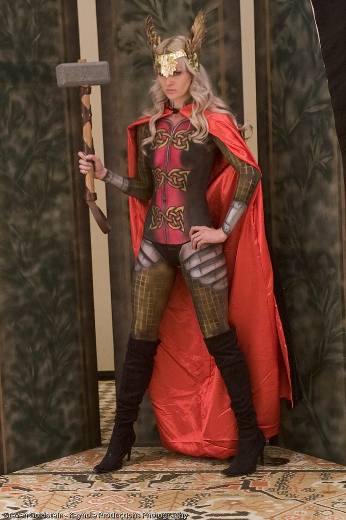 Lady Thor. Love it but sadly lack the skills needed to pull this off.
