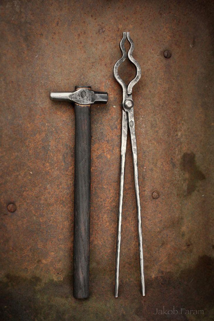 Blacksmith tools by waldgeist pinterest