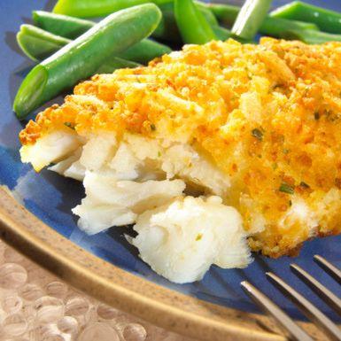 Baked Cod Recipe: Cornflake-Crusted Baked Cod