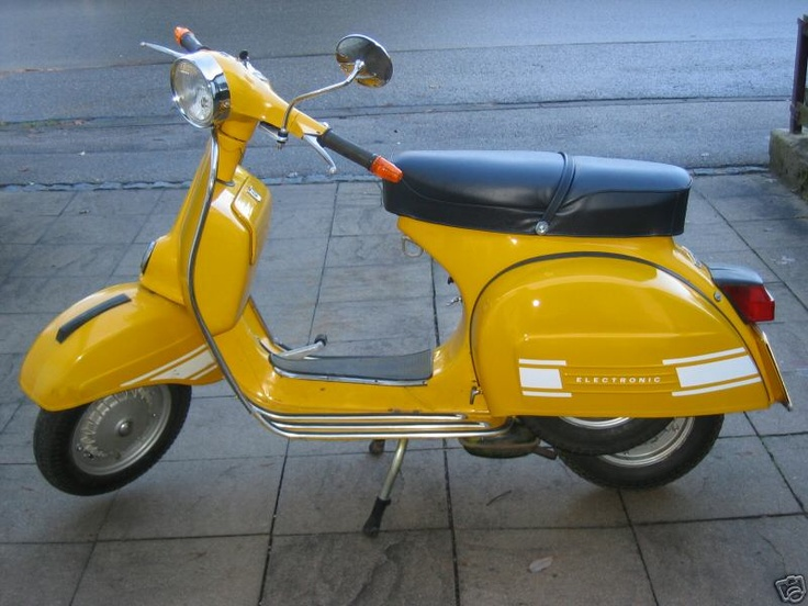 Scoot #3 - Vespa Rally 200. Mine was green - fun times with that thing!