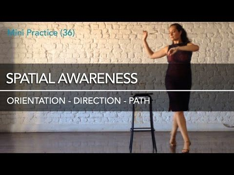 Spatial awareness: orientation, direction & path - Mini Practice (36) - YouTube