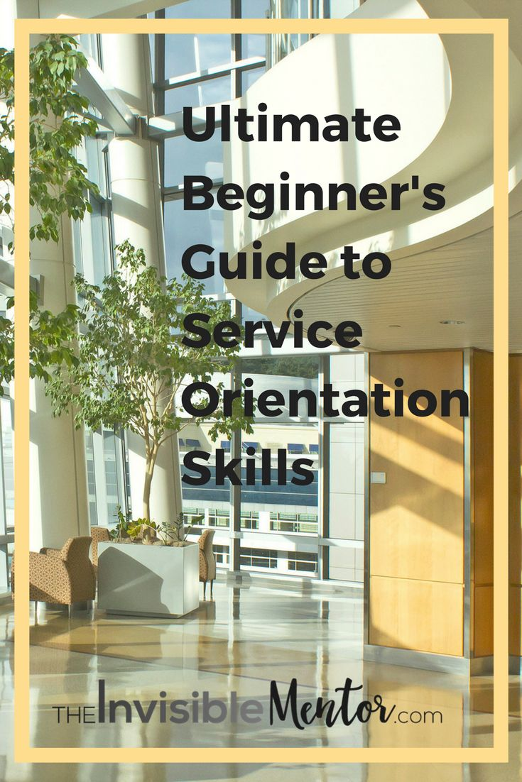 Service orientation is one of the 10 key employability skills you'll need to succeed at work, but what is it? In this curated post, you'll learn the skills that make up customer service, and you'll understand how to deliver impeccable customer service, which is key to building successful businesses. Employees will benefit tremendously by improving their customer service skills, inside and outside, of the organization. Click through to read this post on service orientation and prepare to…