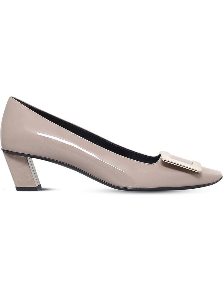 ROGER VIVIER Belle Vivier patent-leather court shoes