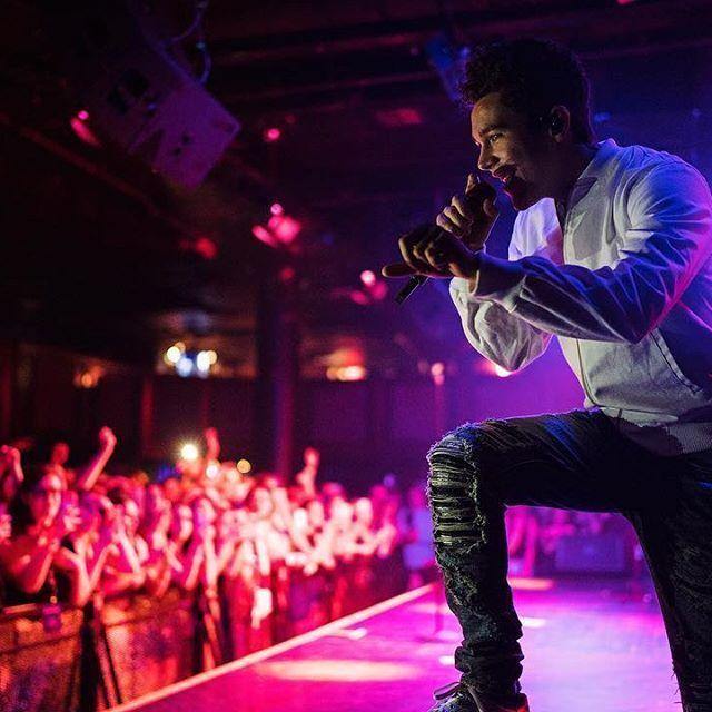 Austin Mahone on tour