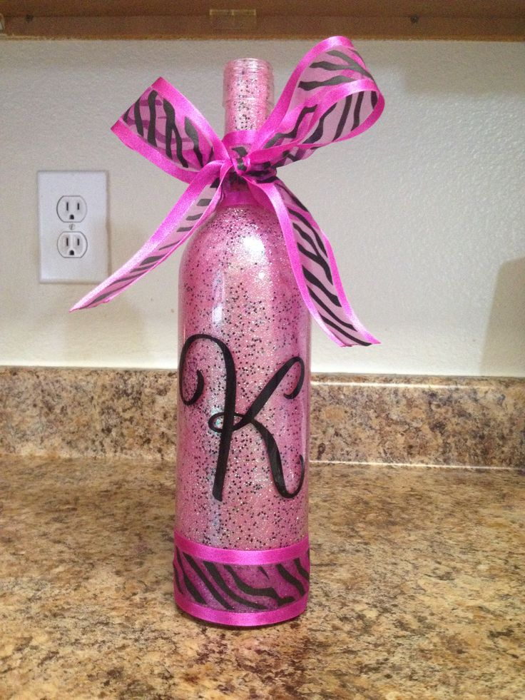 Pinterest the world s catalog of ideas for How to decorate a bottle with glitter
