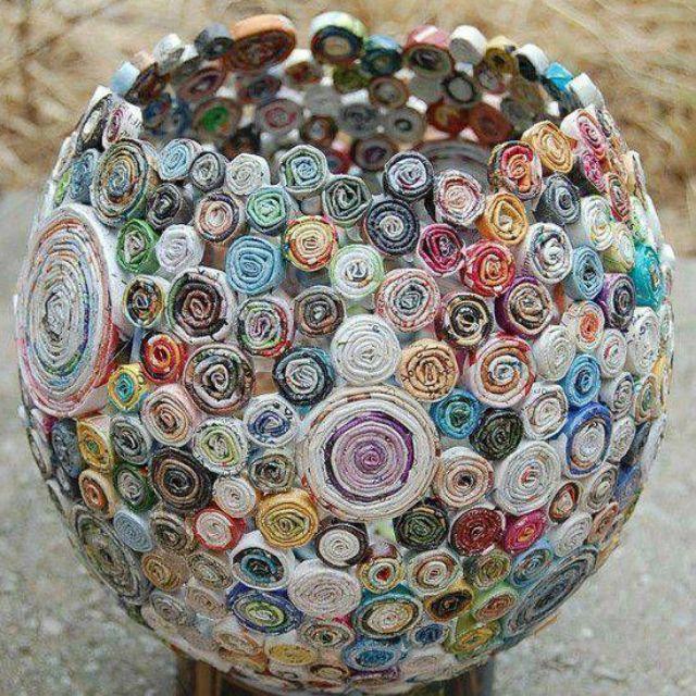 34 Objetos Feitos Com Material Reciclado Super Faceis De Fazer