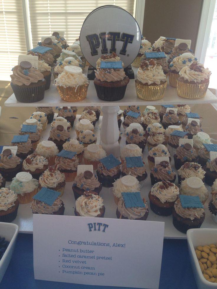 PITT baseball cupcakes