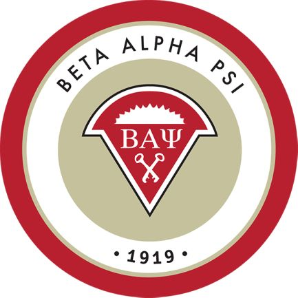 Beta Alpha Psi, an international honorary society, provides opportunities for development of technical and professional skills to complement university education; participation in community service; and interaction among students, faculty, and professionals.