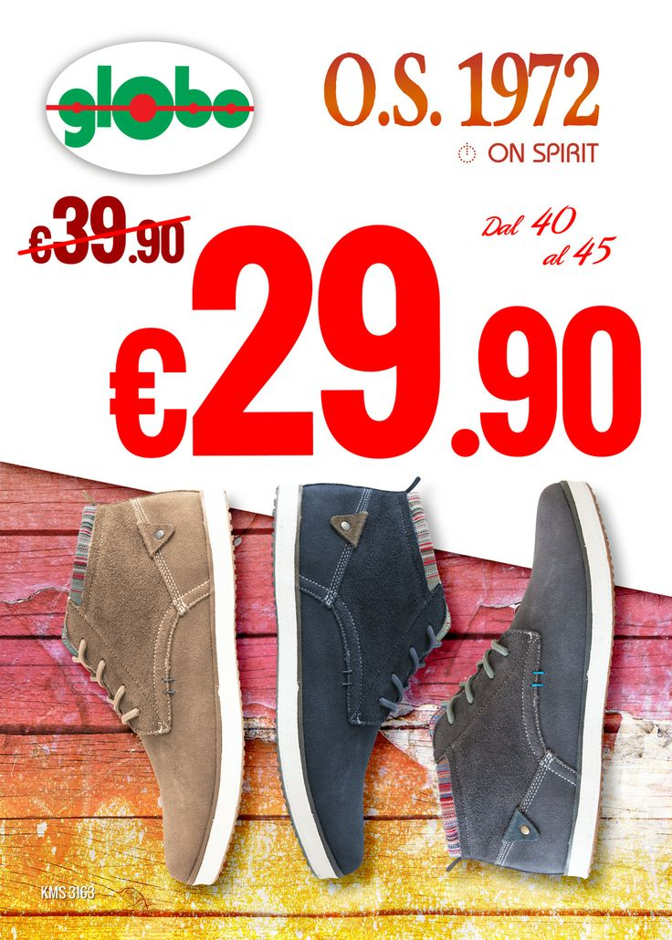 Sneakers #OnSpirit a solo € 29.90!!!