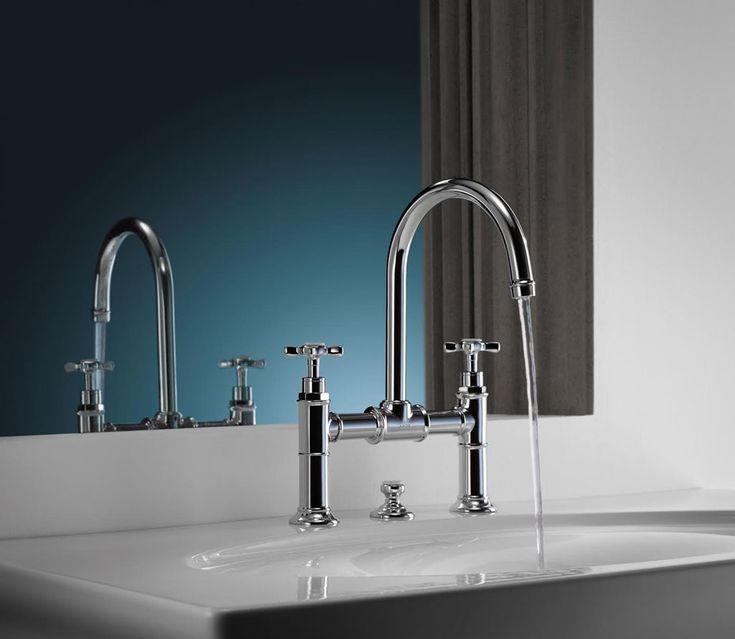 Nieuwe producten voor badkamer en keuken in jaren '20 stijl.