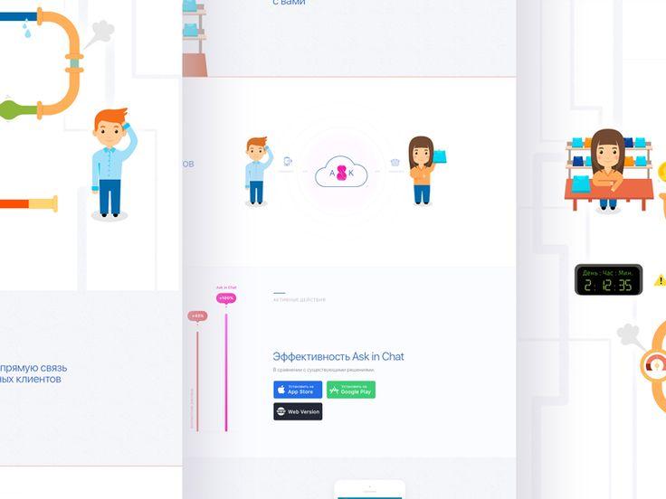 Landing Page Ask by Yaroslav Zaytsev  🐇