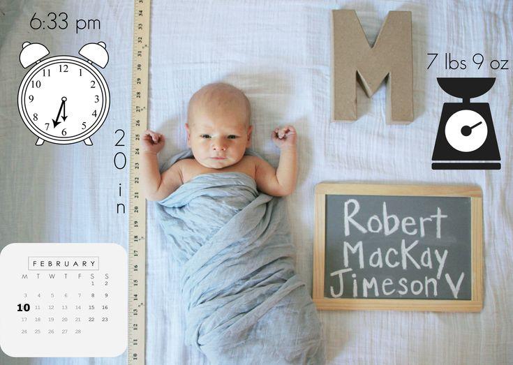 55 best Birth announcement diy images – Birth Announcement Pinterest